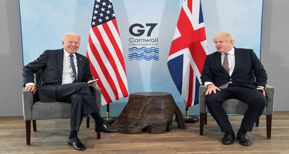 Joe Biden et Boris Johnson se rencontrent pour la première fois à Cornouailles à la veille du Sommet du G7