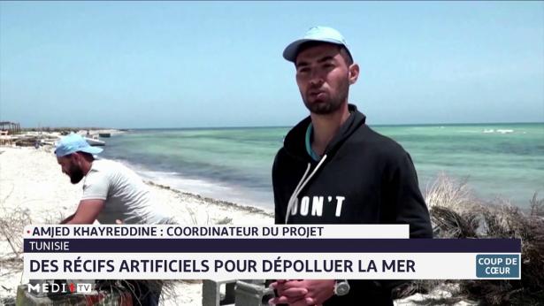Coup de cœur: des récifs artificiels pur dépolluer la mer en Tunisie