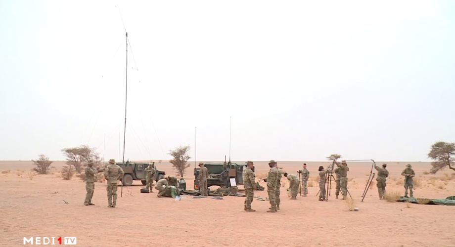 """مركز عمليات """"الأسد الإفريقي 2021"""" : التدريبات المغربية الأمريكية المشتركة تجري في """"ظروف مثالية"""""""