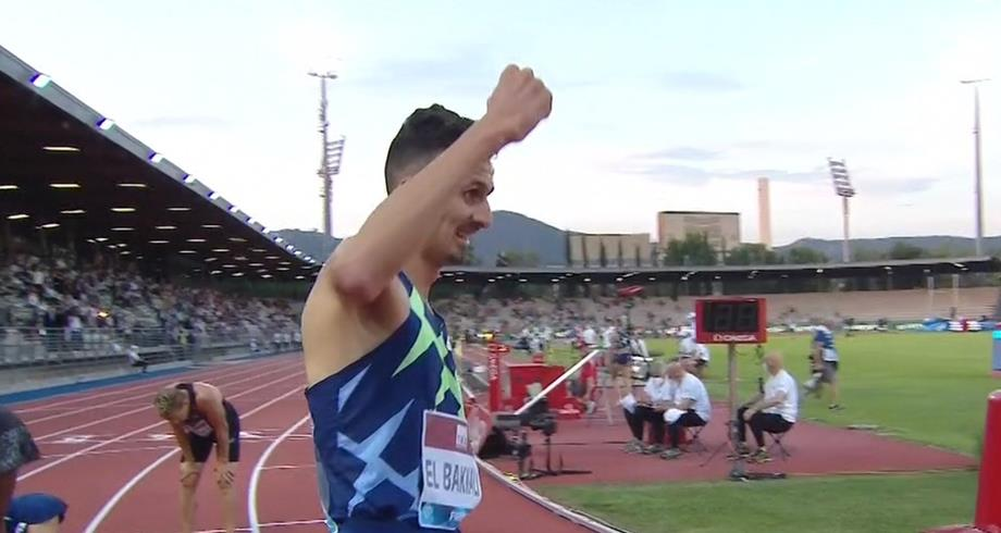 سفيان البقالي يحقق أسرع توقيت عالمي في سباق 3 آلاف متر موانع