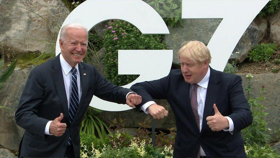 من بريطانيا...الرئيس الأمريكي يبدأ جولته الأوروبية