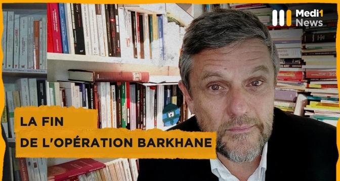 La fin de l'opération Barkhane