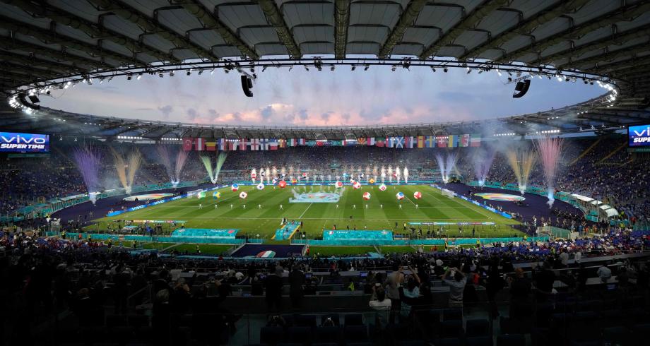 """افتتاح بطولة """"كأس أوروبا 2020"""" بمباراة إيطاليا وتركيا"""