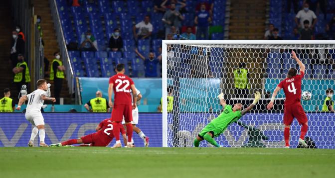 كأس أوروبا.. إيطاليا تفتتح البطولة بثلاثية في مرمى تركيا