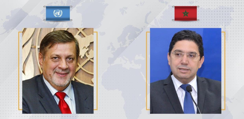 بوريطة يتباحث مع المبعوث الخاص للأمين العام للأمم المتحدة إلى ليبيا حول مؤتمر برلين 2