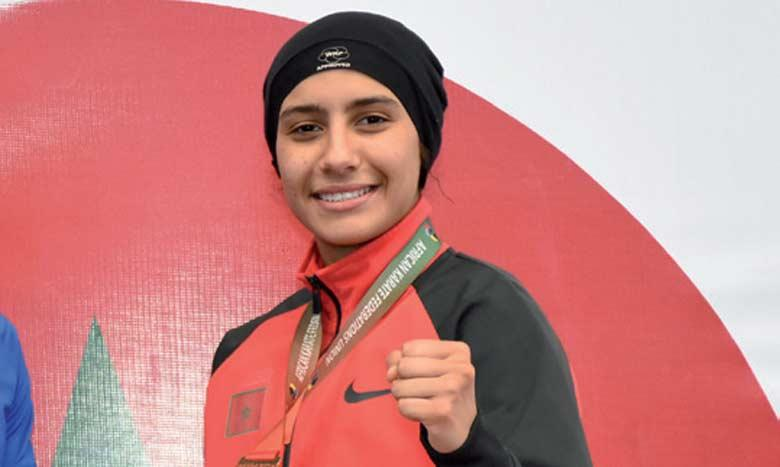 Karaté: Médaillée d'or, la Marocaine Btissam Sadini se qualifie pour les JO de Tokyo