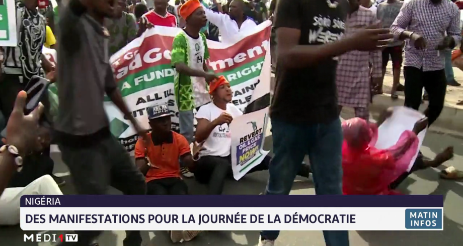 Nigéria: des manifestations pour la journée de la démocratie