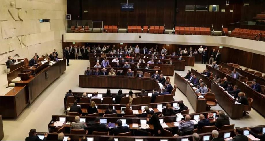 البرلمان الإسرائيلي يبدأ جلسة التصويت على ائتلاف حكومي جديد