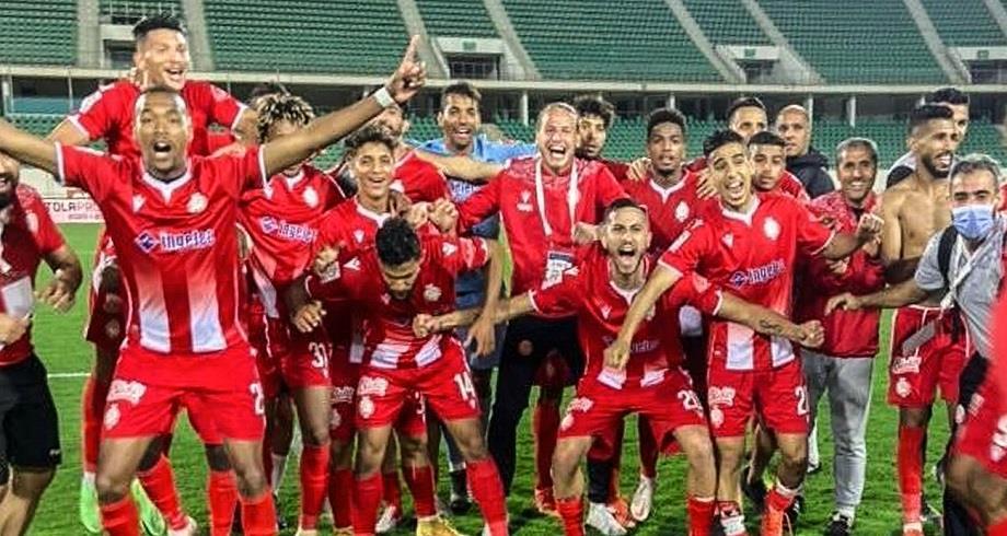 Botola Pro D1: victoire du Wydad Casablanca sur la pelouse du Hassania Agadir