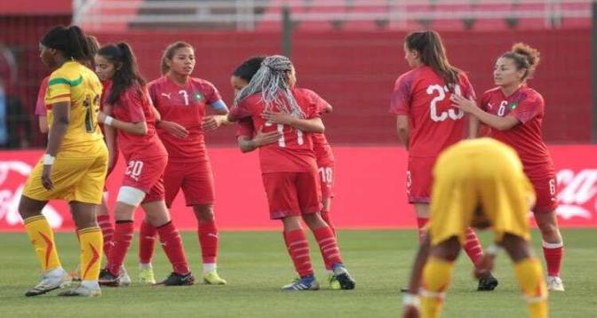 المنتخب الوطني المغربي النسوي لكرة القدم يفوز مجددا على نظيره المالي 3-2