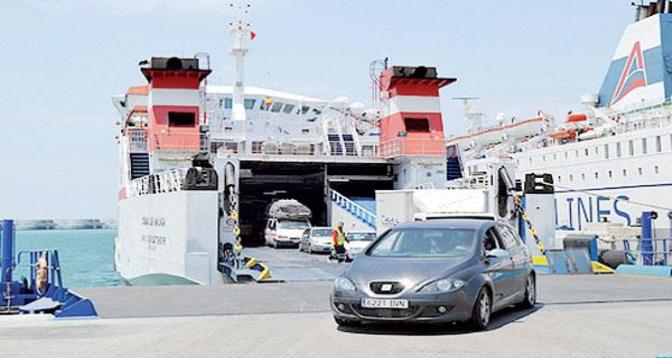 Opération Marhaba 2021 : Augmentation de la capacité des lignes maritimes vers les ports marocains (ministère)