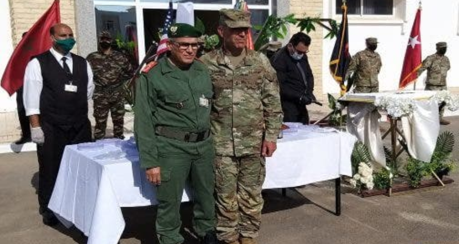"""""""الأسد الأفريقي 2021"""".. القوات البرية الأمريكية تحتفي بذكرى تأسيسها بالمغرب"""