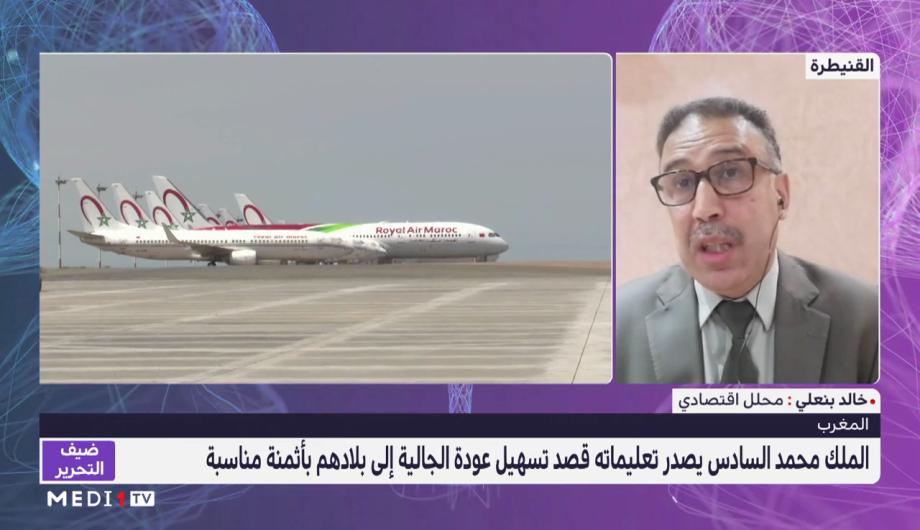 خالد بنعلي يسلط الضوء على التأثير الإيجابي للمبادرة الملكية لتسهيل عودة الجالية المغربية على الاقتصاد الوطني