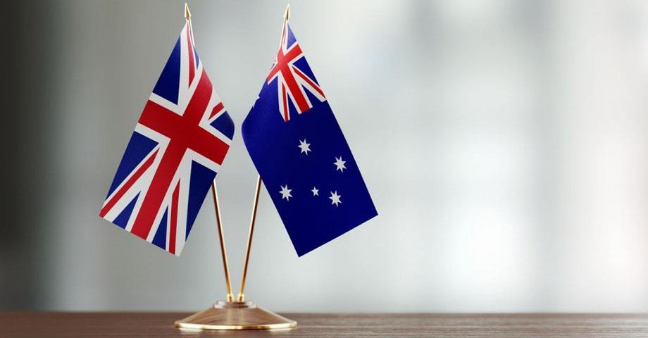 بريطانيا وأستراليا تتوصلان إلى اتفاق للتجارة الحرة