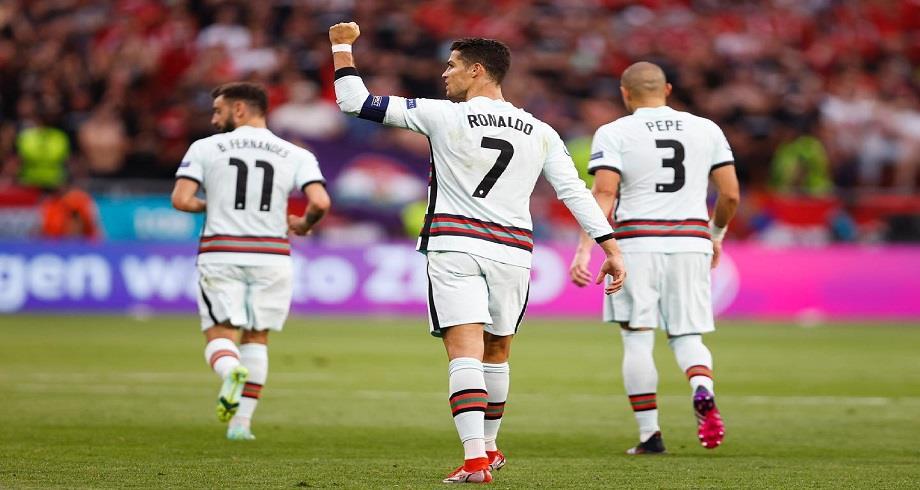 Euro 2020: le Portugal domine la Hongrie
