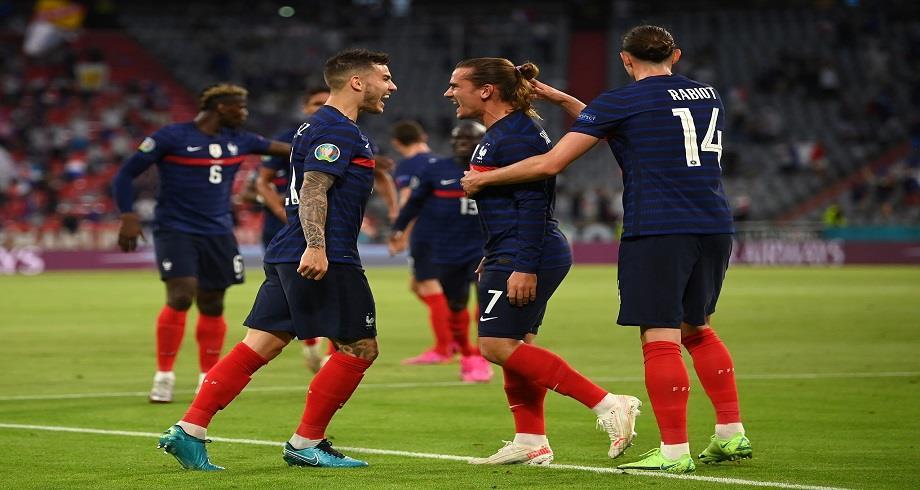 Euro 2020: la France s'impose face à l'Allemagne