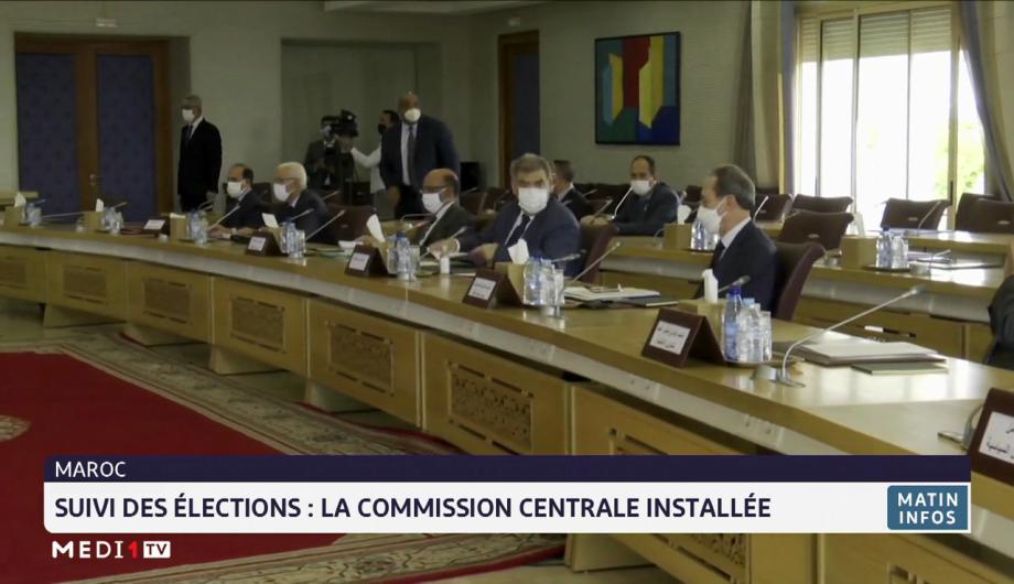Maroc-Suivi des élections: la Commission centrale installée