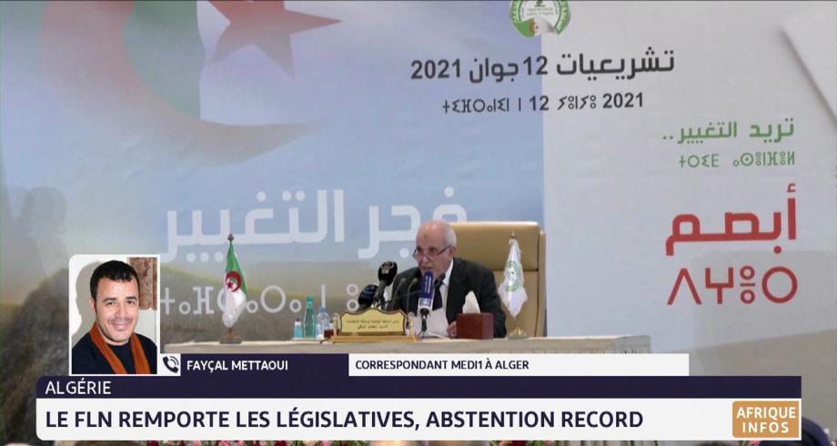 Algérie: le FLN remporte les législatives, abstention record. Le point avec Fayçal Mettaoui
