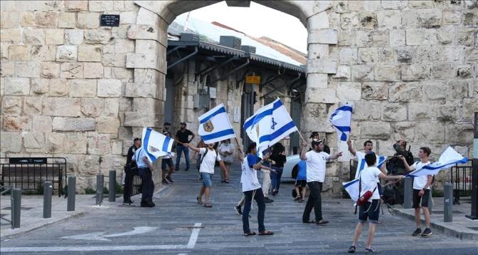 مسيرة اليمين المتطرف تبلغ القدس المحتلة على وقع استمرار التوتر مع الفلسطينيين