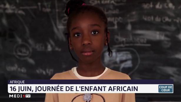 Coup de Coeur: 16 juin, journée de l'enfant africain