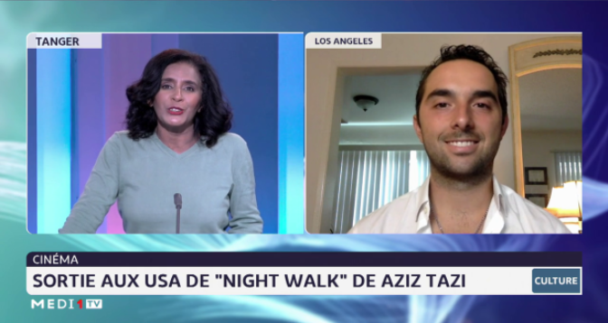 "Chronique culture: sortie aux USA de ""Night Walk"" de Aziz Tazi"