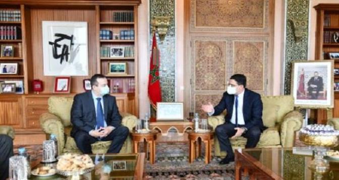 بوريطة يتباحث مع رئيس الجمعية الوطنية بصربيا