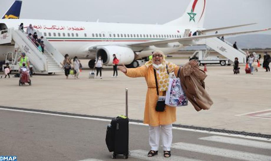 مطار فاس سايس يجدد الصلة مع مغاربة العالم