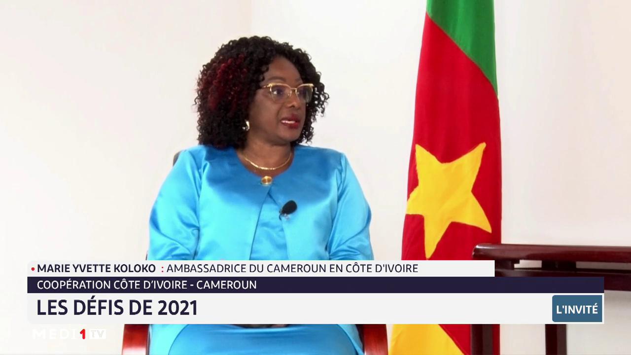 Côte d'Ivoire-Cameroun: les défis de 2021 avec Marie Yvette Koloko
