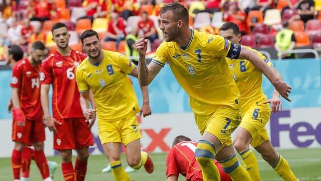 كأس أوروبا...أوكرانيا تتخطى مقدونيا الشمالية وتعزز آمال بلوغ ثمن النهائي