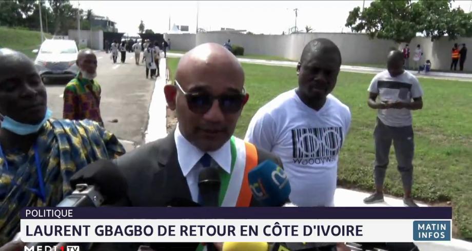 Côte d'Ivoire: Laurent Gbagbo de retour en Côte d'Ivoire