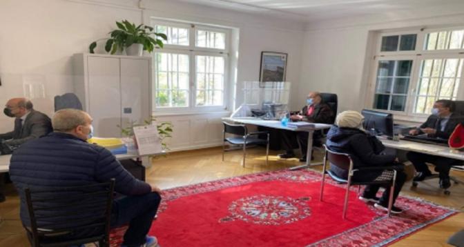 """""""Consulat portes ouvertes"""" à l'ambassade du Maroc à Berne au profit des Marocains de Suisse et du Liechtenstein"""