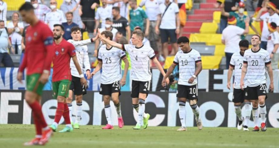 """كأس أوروبا.. ألمانيا تسقط البرتغال وتشعل """"مجموعة الموت"""""""