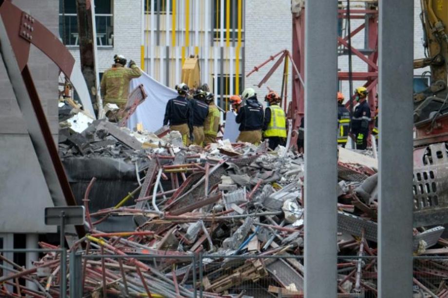 Belgique: cinq morts sur le chantier d'une école à Anvers
