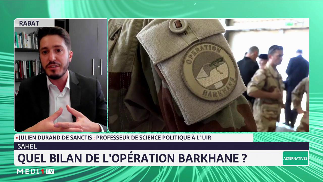 Quel Bilan de l'opération Barkhane? L'analyse de Julien Durand de Sanctis