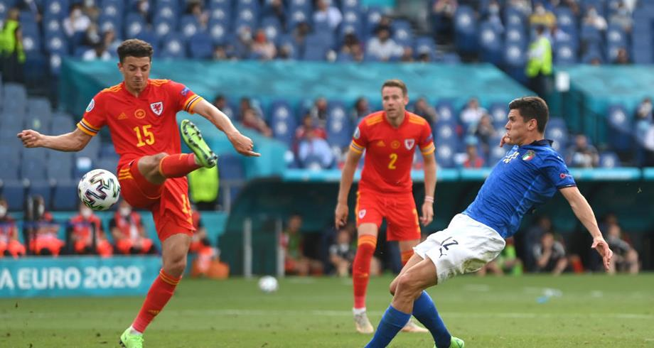 كأس أوروبا.. ويلز تخسر أمام إيطاليا صفر-1 وتلتحق بها إلى ثمن النهائي