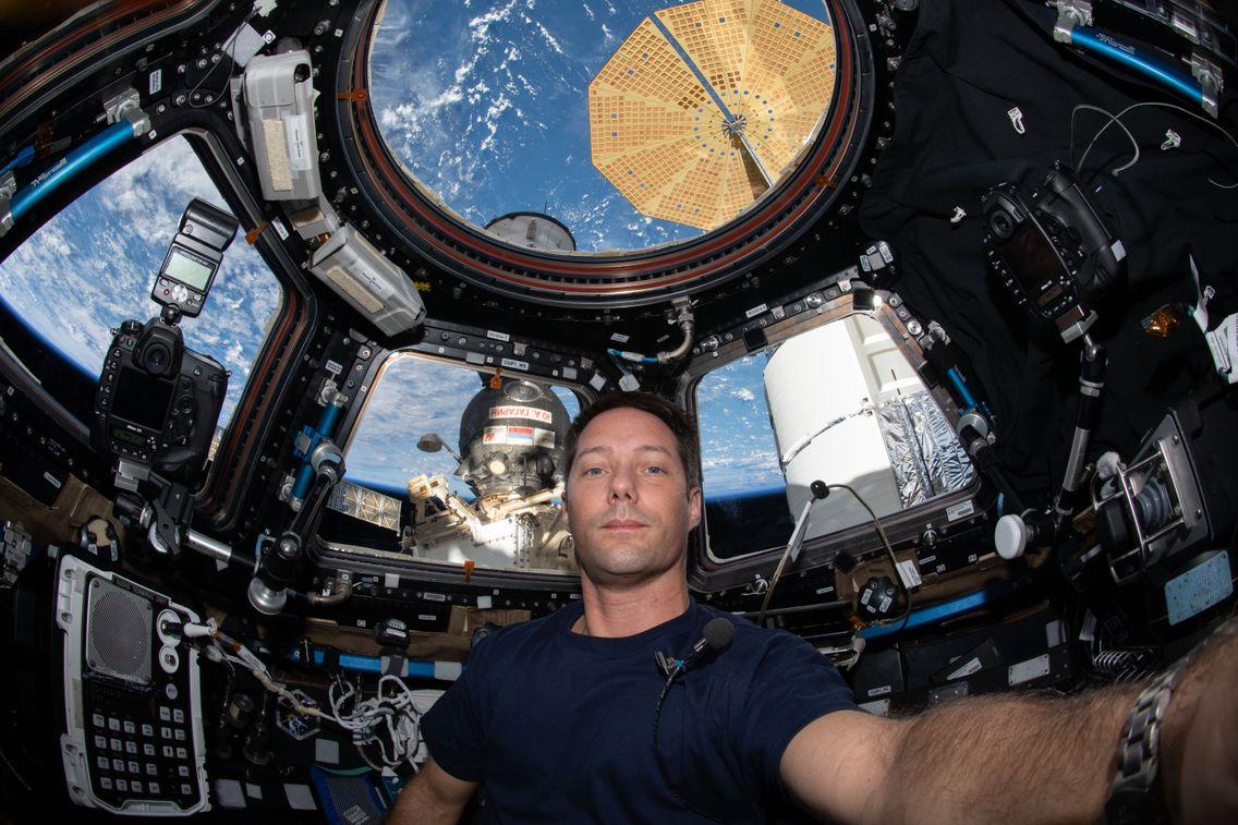 Thomas Pesquet de retour dans la Station après sa sortie dans l'espace