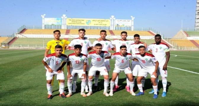 Coupe arabe des nations (U20): le Maroc domine le Tadjikistan 6-1