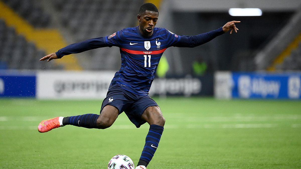 France: Ousmane Dembélé blessé et forfait pour la suite de l'Euro
