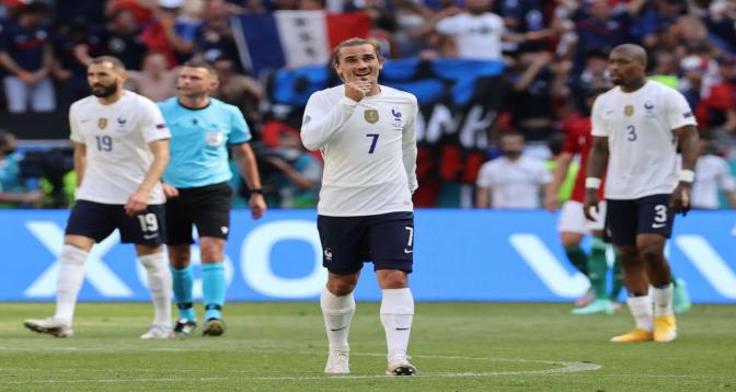 Euro: La France en 8èmes de finale avant son 3ème match face au Portugal