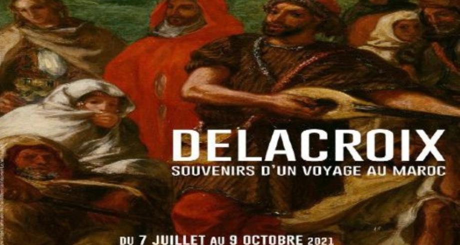 """الرباط تحتضن معرض """"دولاكروا، ذكريات رحلة إلى المغرب""""، الأول من نوعه في أفريقيا والعالم العربي"""