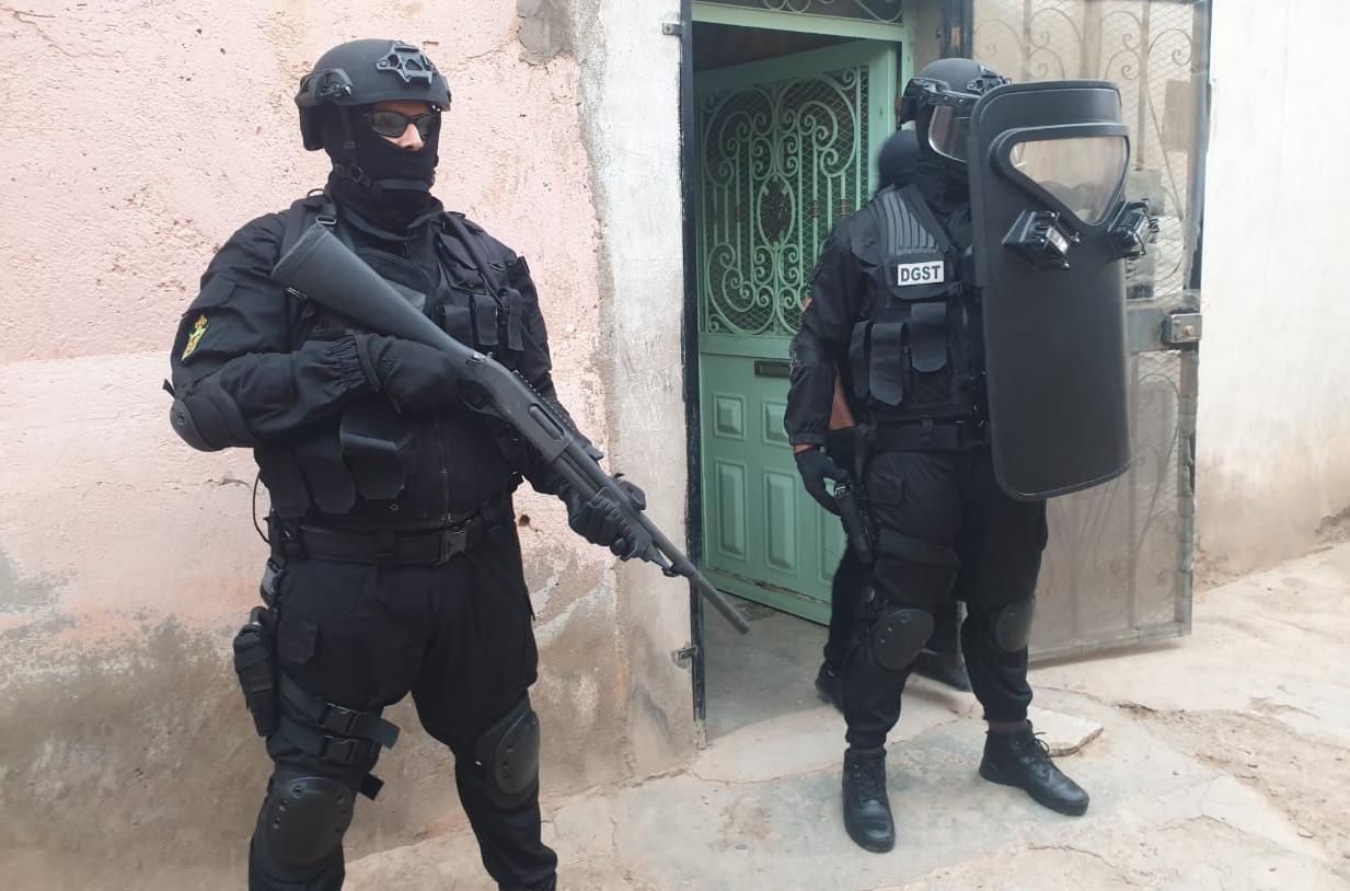 """تفكيك خلية إرهابية موالية لتنظيم """"داعش"""" بمدينة الرشيدية"""