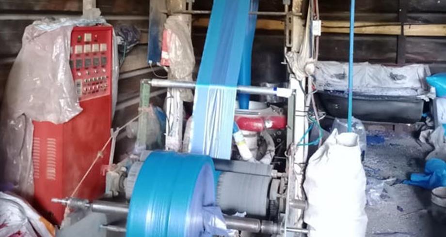 النواصر .. ضبط وحدة سرية لإنتاج الأكياس البلاستيكية الممنوعة وحجز أزيد من 18.6 طن منها