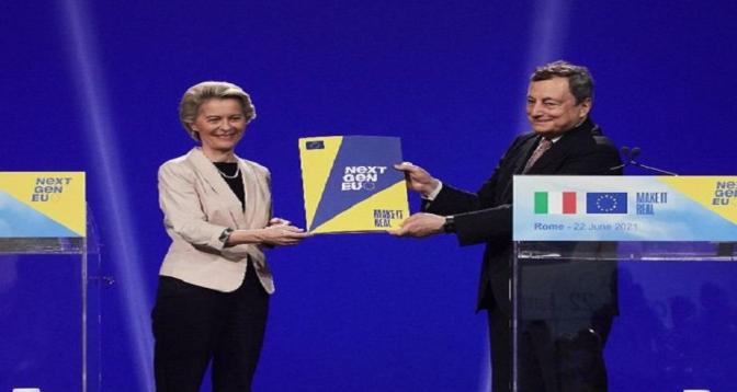 Bruxelles approuve le montant exceptionnel de 191,5 milliards d'euros pour la relance économique italienne