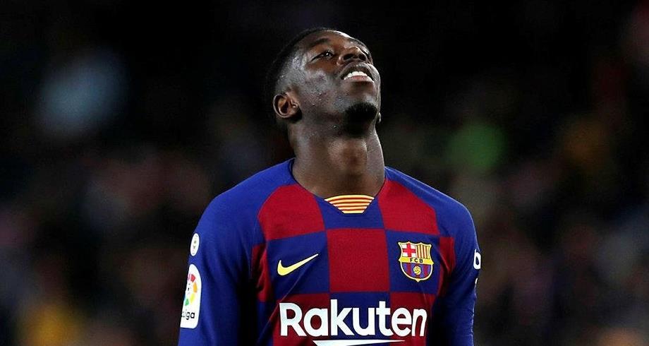 برشلونة يعلن مدة غيابديمبيلي