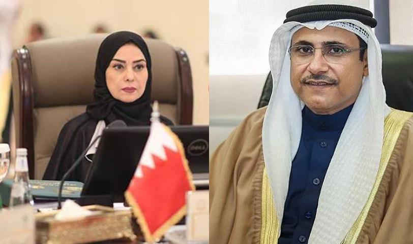 رئيسة مجلس النواب البحريني ورئيس البرلمان العربي يثمنان السياسة النموذجية للمملكة في تدبير الهجرة