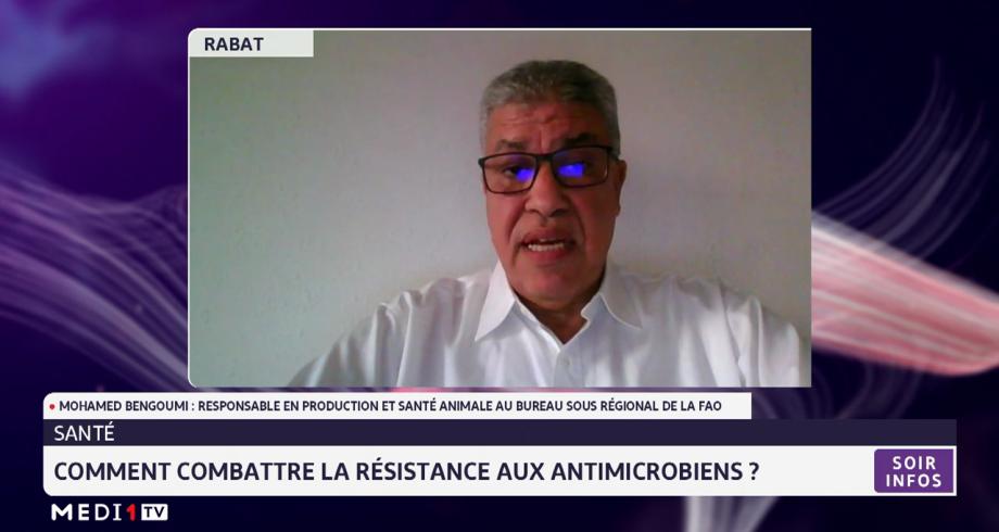 Comment combattre la résistance aux antimicrobiens? Réponse avec Mohamed Bengoumi