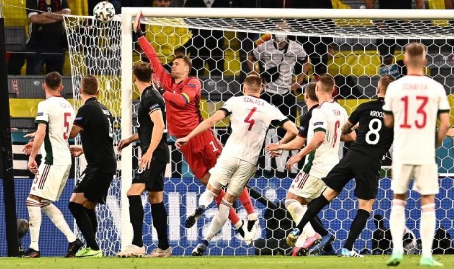 Euro: l'Allemagne se qualifie pour les huitièmes de finale