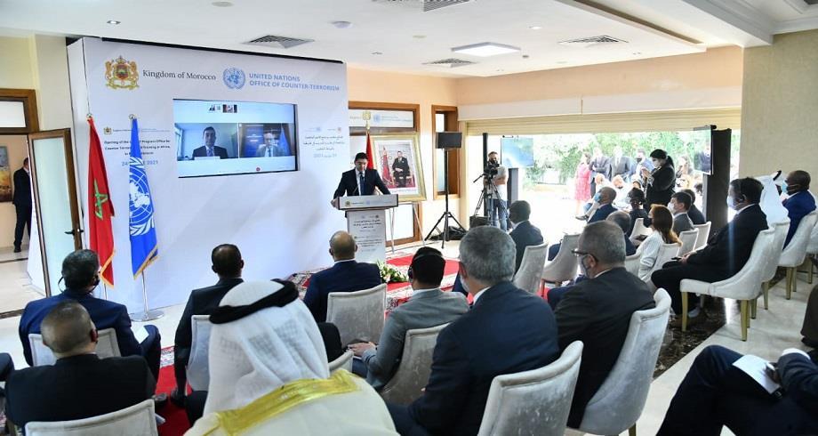 Inauguration à Rabat du siège du Bureau du Programme pour la lutte contre le terrorisme et la formation en Afrique