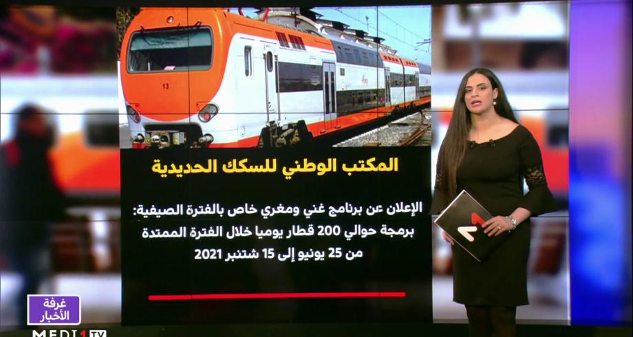 شاشة تفاعلية.. تفاصيل برنامج مكتب السكك الحديدية الخاص بالفترة الصيفية