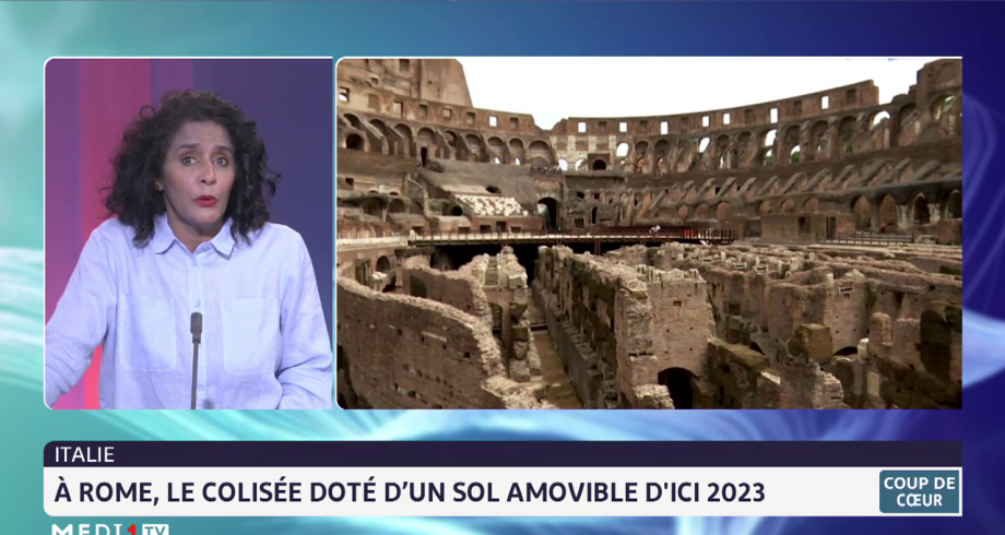 Coup de coeur: À Rome, le Colisée se dote d'un sol amovible d'ici 2023